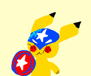 Pokémon but with Avengers