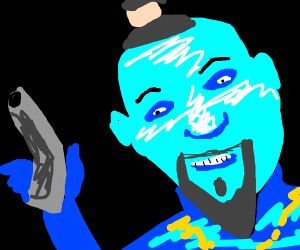 will smith genie threatens you with gun