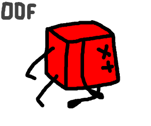 rip cube man