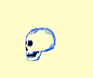 Ominous skull