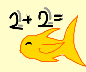2+2= yellow fish