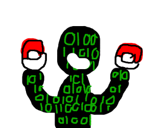 hackerman got all pokeballs