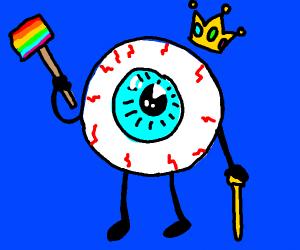 gay king eyeball