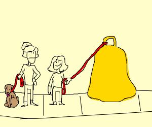 A pet bell