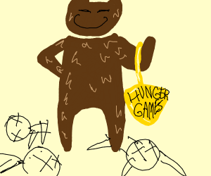 fat bear wins the hunger games