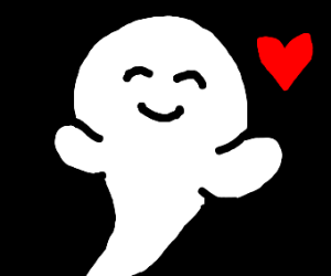 ghost about to give a hug