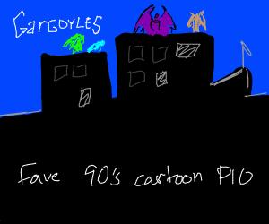 Favorite 90's cartoon PIO