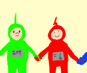 math teletubbies