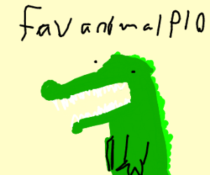 Favourite animal p.i.o