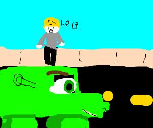 Shrek truck