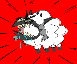 Wooloo gone feral.