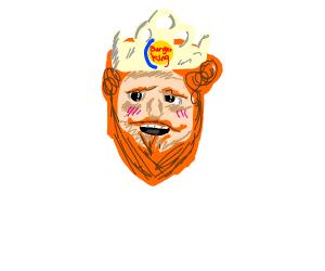 The Burger King mascot