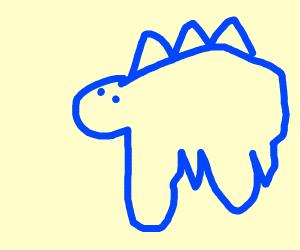 Blue dino