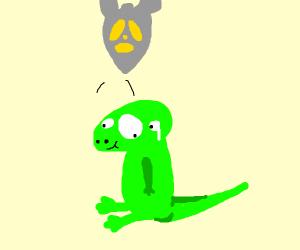 Nuking a lizard