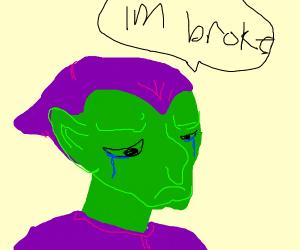 poor green goblin
