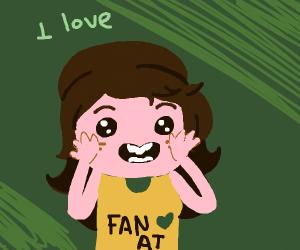 Adventure Time fan