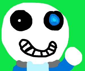 sans undertale is about to obliterate someone