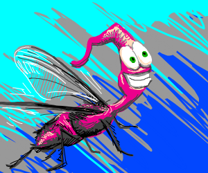 Earthworm Jim as a Fly