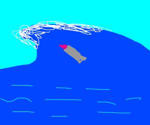 Lipstick in a Tsunami