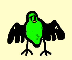 Lime combined with Raven