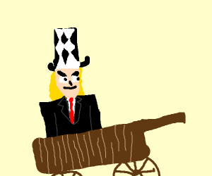 Speedwagon On A Wagon