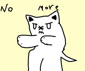 Very Satisfied Cat