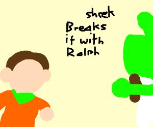 Shrek Wreck it Ralph