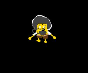 Spongebob in space
