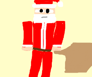 Christmas Minecraft Santa.Castlevania But Dracula Is Santa Claus Drawception