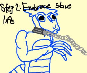 Step1: get transformed into a Kobold slave