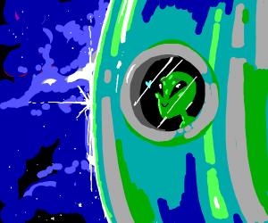 Green Alien Crushing(In Love)