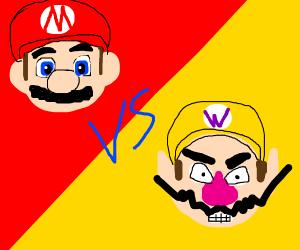 Wario vs Mario