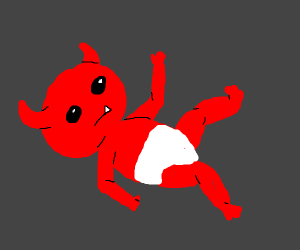 a lil' baby demon