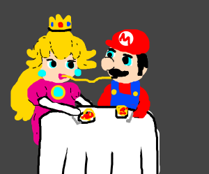 Mario and peach dating