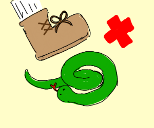 Dummy Thicc Snake - Drawception