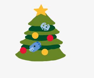 Christmas Discord.Christmas Tree Drawception