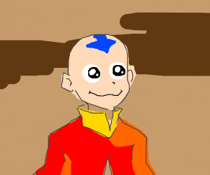 Excited Aang