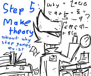 step 4: wonder why step games still exist