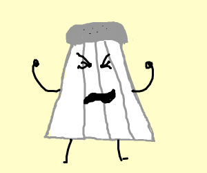 whining baby salt shaker
