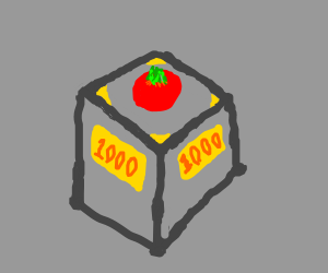 Tomato is exposed in a museum and sold 1000$