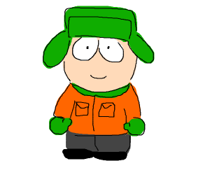 Kyle from southpark
