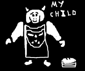 Toriel (goat mum from undertale)