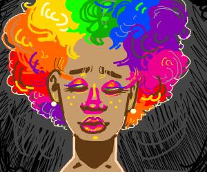 Rainbow Afro