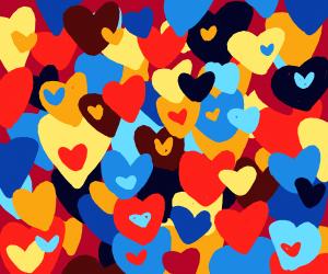 bunch o hearts