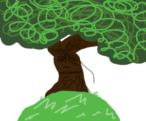 emo tree (now with a choker)