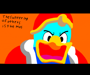 kingdedede says something