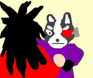 Wolf vs Goku SSJ4