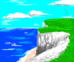 Overlooking the White Cliffs of Dover