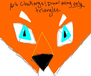 Art Challenge! Draw using only triangles