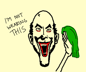 bald joker.......wig...
